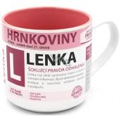 Nekupto Hrnkoviny Hrnek se jménem Lenka 0,4 litru