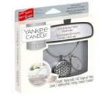 Yankee Candle Fluffy Towels - Nadýchané osušky vůně do auta kovová stříbrná visačka Charming Scents set Geometric 13 x 15 cm, 90 g