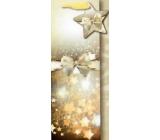 Nekupto Dárková papírová taška na láhev 35 x 12 cm Vánoční 1531 WILH