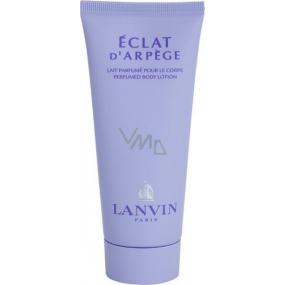 Lanvin Eclat D Arpege tělové mléko pro ženy 100 ml Tester