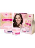 Dermacol Collagen+ Rejuvenating SPF10 intenzivní omlazující denní krém 50 ml + Collagen+ Rejuvenating noční krém 50 ml + Collagen+ Intensive Rejuvenating pleťová maska 2 x 8 g, kosmetická sada