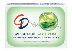 CD Aloe Vera a glycerin toaletní mýdlo 125 g