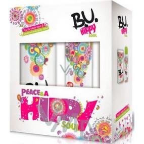 B.U. Hippy Soul toaletní voda 50 ml + deodorant sprej 150 ml, pro ženy dárková sada