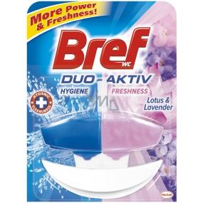 Bref Duo Aktiv Lotus & Levandule tekutý WC blok komplet 50 ml