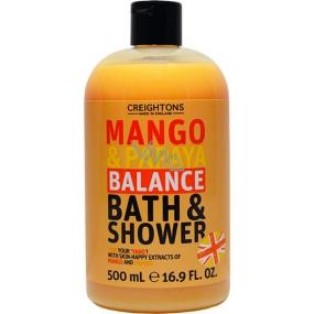 Creightons Mango & Papája sprchový gel a pěna 500 ml
