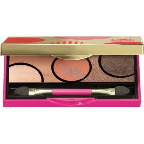 Pupa Dot Shock Eyeshadow Palette paletka očních stínů 002 Spring Sunset 5 g