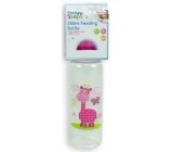 First Steps Jungle Žirafa 0+ kojenecká láhev 250 ml