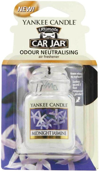 Yankee fragrance car in Midnight Jasmine 8272 car