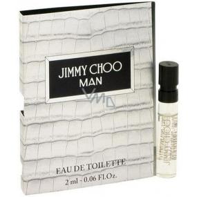 Jimmy Choo Man toaletní voda 2 ml s rozprašovačem, vialka
