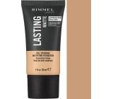 Rimmel London Lasting Matte Foundation make-up 200 Soft Beige 30 ml