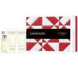 Calvin Klein Eternity Woman parfémovaná voda pro ženy 50 ml + tělové mléko 100 ml + sprchový gel 100 ml, dárková sada