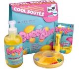 Regina Bubble Gum sprchový gel s žvýkačkovou vůní 500 ml + Bubble Gum jelení lůj s žvýkačkovou vůní 2,3 g + Blechy tradiční hra pro děti, kosmetická sada