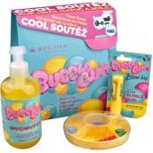Regina Bubble Gum sprchový gel s žvýkačkovou vůní 500 ml + Bubble Gum jelení lůj s žvýkačkovou vůní 4,5 g + Blechy tradiční hra pro děti, kosmetická sada