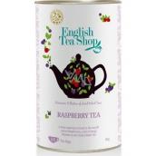 English Tea Shop Bio Černý čaj Malina 60 kusů sáčků čaje, 90 g