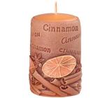 Emocio Skořice Cinnamon vonná svíčka válec 50 x 80 mm