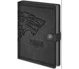 Epee Merch Hra o Trůny Game of Thrones - Stark Blok A5 21 x 15 cm premium linkovaný