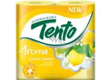 Tento Fresh Aroma Sunny Lemon parfémovaný toaletní papír 2 vrstvý 156 útržků 4 kusy