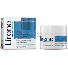 Lirene Normal And Combination Skin denní sametový hydratační krém 50 ml