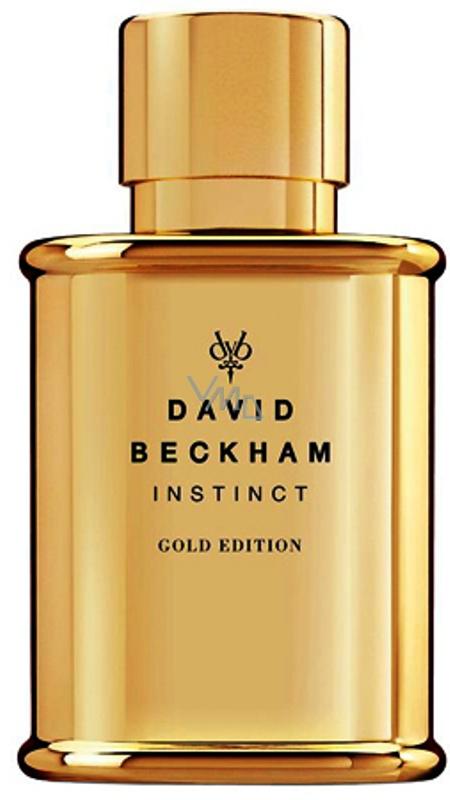 David Beckham Instinct Gold Edition Toaletní Voda Pro Muže 50 Ml