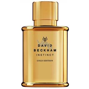 David Beckham Instinct Gold Edition toaletní voda Tester pro muže 50 ml