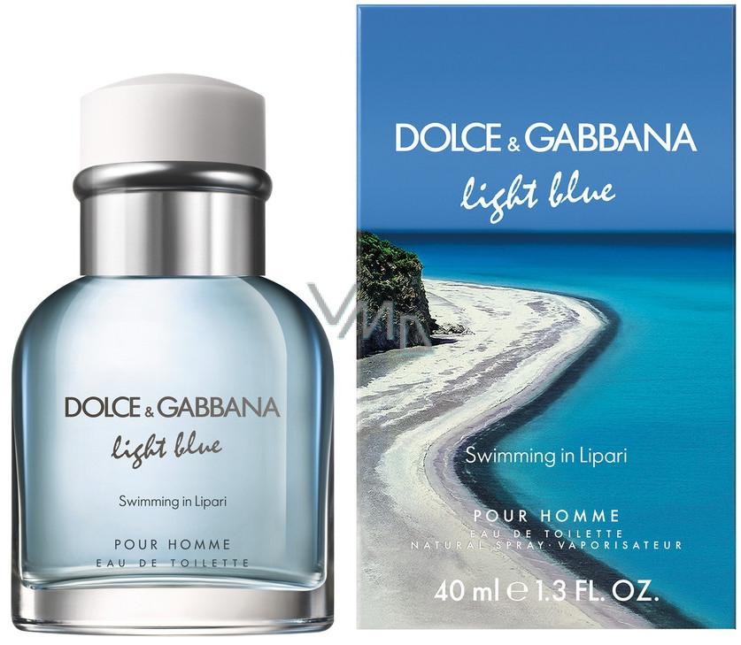 Dolce & Gabbana Light Blue Swimming in Lipari toaletní voda pro muže 75 ml