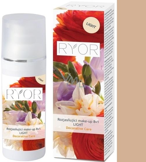 Ryor Decorative Care rozjasňující make-up 8v1 Light 30 ml