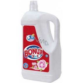 Bonux Rose 3v1 tekutý prací gel 85 dávek 5,525 l
