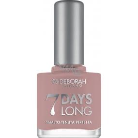 Deborah Milano 7 Days Long Nail Enamel lak na nehty 865 Mauve Grey 11 ml