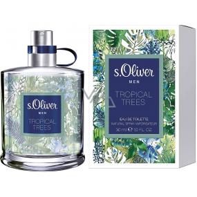 s.Oliver Tropical Trees Men toaletní voda 30 ml