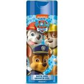 Paw Patrol Tlapková patrola 2v1 sprchový gel a pěna do koupele pro děti 400 ml