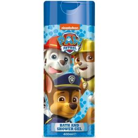 Paw Patrol 2v1 sprchový gel a pěna do koupele pro děti 400 ml