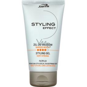 Joanna Styling Effect Styling Gel na vlasy extra silný 150 g