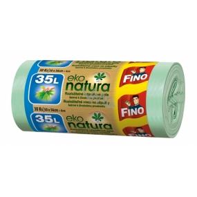 Fino Eco Natural rozložitelný sáček do koše 35l 50x55cm 30ks