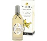 Vivian Gray Vivanel Vanilla & Patchouli Luxusní toaletní voda s esenciálními oleji pro ženy 100 ml