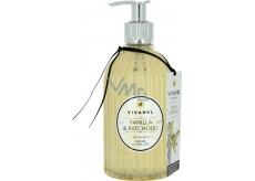 Vivian Gray Vivanel Vanilla & Patchouli luxusní tekuté mýdlo s dávkovačem 350 ml