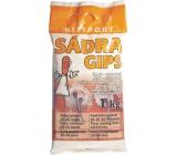 Kittfort Sádra Gips šedá - stavební 1 kg
