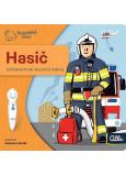 Albi Kúzelné čítanie interaktívne minikniha Hasič