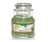 Yankee Candle Vanilla Lime - Vanilka s limetkou vonná svíčka Classic malá sklo 104 g