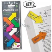 If Sticky Highlighter Tabs Barevné nalepovací zvýrazňovací záložky šipky 160 kusů