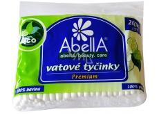 Abella Premium vatové tyčinky sáček 200 kusů