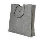 Albi Eko taška vyrobená z pratelného papíru skládací - šedá 37 cm x 37 cm x 9,5 cm