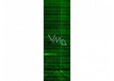 Nekupto Dárková papírová taška na láhev 33 x 10 x 9 cm Zelená hologramová 113 50 THLH
