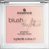 Essence Blush Lighter tvářenka a rozjasňovač 04 Peachy Dawn 8 g
