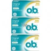 o.b. Original Normal tampony 3 x 16 kusů