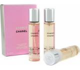 Chanel Chance toaletní voda náplně pro ženy 3 x 20 ml