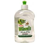 Winnis Piatti Aloe Vera na ruční mytí nádobí Ekologický koncentrovaný hypoalergenní mycí prostředek 500 ml