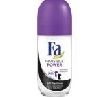 Fa Sport Invisible Power kuličkový antiperspirant deodorant roll-on pro ženy 50 ml