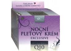 Bione Cosmetics Exclusive & Q10 noční pleťový krém pro všechny typy pleti 51 ml