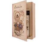 Bohemia Gifts Kniha Pohádka o babičce - sprchový gel 250 ml + olejová lázeň 200 ml (s příjemnou levandulovou vůní), kosmetická sada