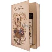 Bohemia Gifts & Cosmetics Kniha Pohádka o babičce - sprchový gel 250 ml + olejová lázeň 200 ml (s příjemnou levandulovou vůní), kosmetická sada